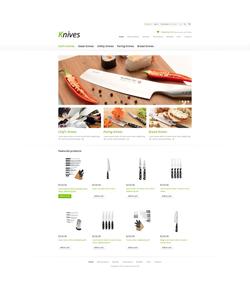 Zen Cart e-shop šablona na téma Interiér a nábytek č. 45675