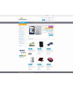 Zen Cart e-shop šablona na téma Počítače č. 45680