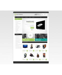 Zen Cart e-shop šablona na téma Elektronika č. 46691