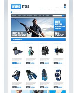Zen Cart e-shop šablona na téma Sport č. 46971