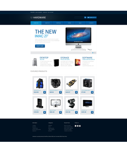 WooCommerce e-shop šablona na téma Software č. 46990