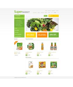 Zen Cart e-shop šablona na téma Jídlo a pití č. 47069