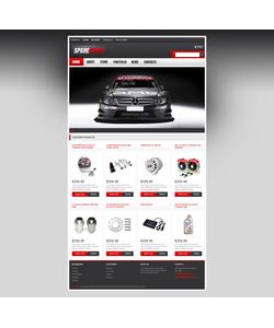 WooCommerce e-shop šablona na téma Auta č. 47075