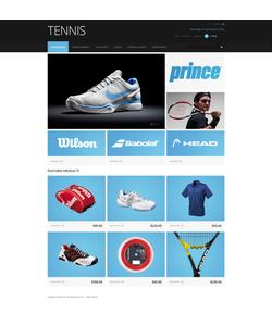 Zen Cart e-shop šablona na téma Sport č. 47394