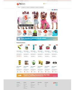 WooCommerce e-shop šablona na téma Zvířata č. 47513