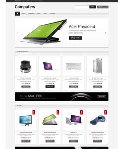 WooCommerce e-shop šablona na téma Počítače č. 47561
