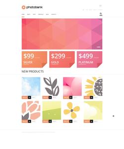 WooCommerce e-shop šablona na téma Umění a fotografie č. 47562