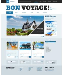 WooCommerce e-shop šablona na téma Cestování č. 47683