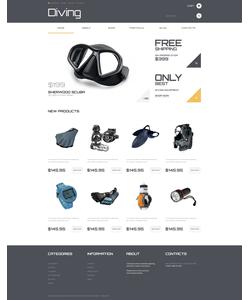 WooCommerce e-shop šablona na téma Sport č. 47805