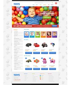 WooCommerce e-shop šablona na téma Zábava č. 47989