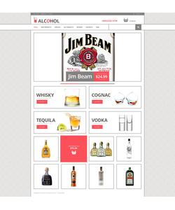 Zen Cart e-shop šablona na téma Jídlo a pití č. 48047