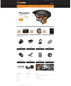 WooCommerce e-shop šablona na téma Auta č. 48071