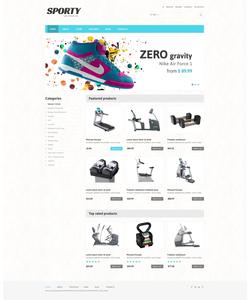WooCommerce e-shop šablona na téma Sport č. 48094