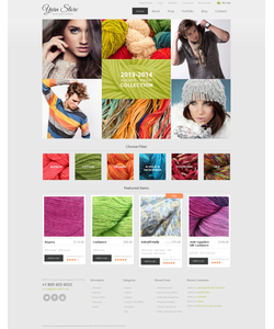 WooCommerce e-shop šablona na téma Nejpopulárnější č. 48109