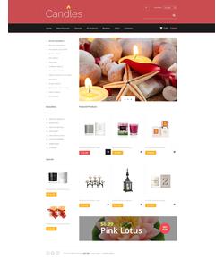 Zen Cart e-shop šablona na téma Dárky č. 48136