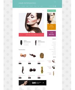 Zen Cart e-shop šablona na téma Krása č. 48267