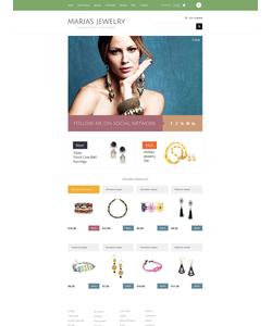 Zen Cart e-shop šablona na téma Šperky č. 48268