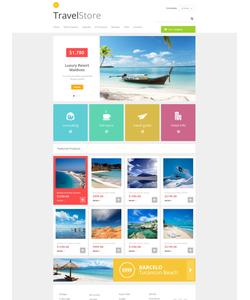 Zen Cart e-shop šablona na téma Cestování č. 48269