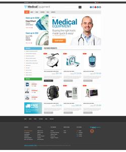 WooCommerce e-shop šablona na téma Lékařské č. 48297