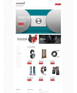 WooCommerce e-shop šablona na téma Elektronika č. 48363