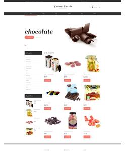 WooCommerce e-shop šablona na téma Jídlo a pití č. 48449