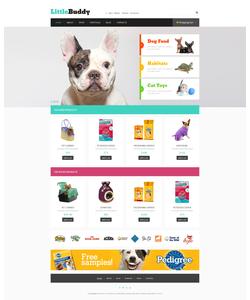 WooCommerce e-shop šablona na téma Zvířata č. 48451
