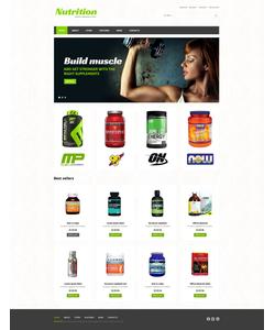 WooCommerce e-shop šablona na téma Sport č. 48474