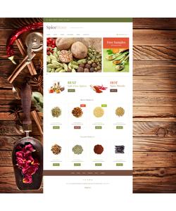WooCommerce e-shop šablona na téma Café a restaurace č. 48531