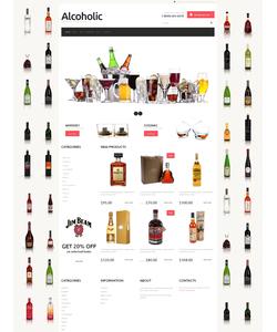 WooCommerce e-shop šablona na téma Jídlo a pití č. 48651
