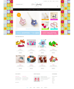 WooCommerce e-shop šablona na téma Šperky č. 48652