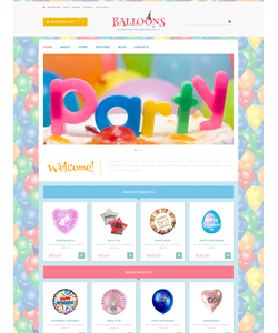 WooCommerce e-shop šablona na téma Zábava č. 49015