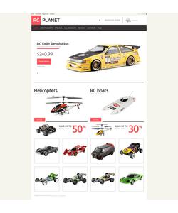 Zen Cart e-shop šablona na téma Zábava č. 49076