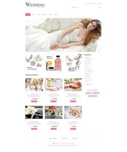WooCommerce e-shop šablona na téma Svatby č. 49142