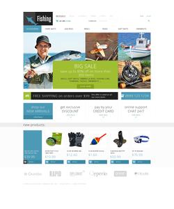 Zen Cart e-shop šablona na téma Sport č. 49201