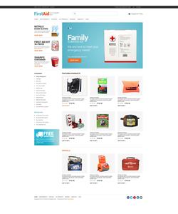 Zen Cart e-shop šablona na téma Lekařské č. 49253