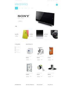 WooCommerce e-shop šablona na téma Elektronika č. 49357