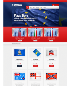 WooCommerce e-shop šablona na téma Politika č. 49412