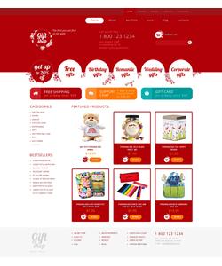 WooCommerce e-shop šablona na téma Dárky č. 49413