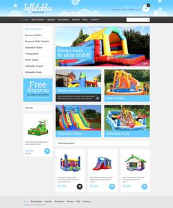 Zen Cart e-shop šablona na téma Zábava č. 49471