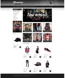 Zen Cart e-shop šablona na téma Móda č. 49472