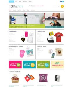 WooCommerce e-shop šablona na téma Dárky č. 49593