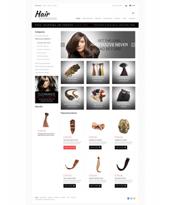 Zen Cart e-shop šablona na téma Krása č. 49673