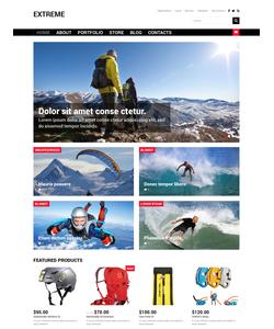WooCommerce e-shop šablona na téma Cestování č. 50107