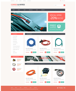 WooCommerce e-shop šablona na téma Elektronika č. 50439