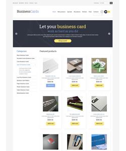 Zen Cart e-shop šablona na téma Podnikání č. 50530