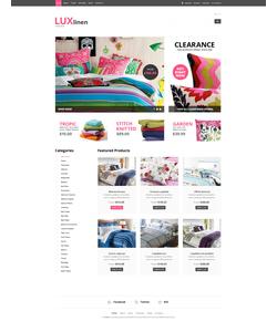 WooCommerce e-shop šablona na téma Interiér a nábytek č. 50692