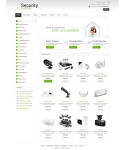 Zen Cart e-shop šablona na téma Bezpečnost č. 50722