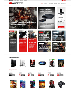 WooCommerce e-shop šablona na téma Hry č. 50724