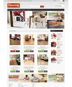Zen Cart e-shop šablona na téma Interiér a nábytek č. 50791