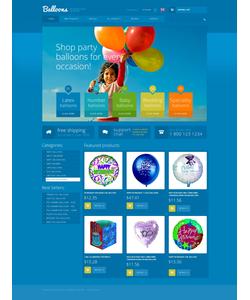 Zen Cart e-shop šablona na téma Zábava č. 50857